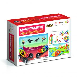 """MAGFORMERS Magnetinis rinkinys """"Wow"""", 16 vnt."""