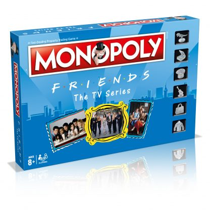 WINNING MOVES Monopoly Friends žaidimas ENG